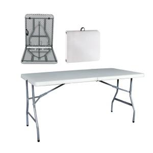 BLOW Συνεδρίου (Βαλίτσα) Τραπ.152x70cm Πτυσ/νο Άσπρο