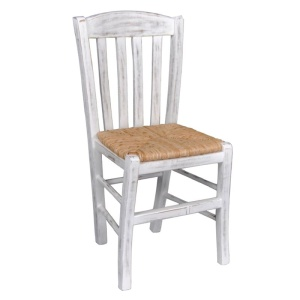 CASA Καρέκλα Ψάθα Εμποτ.Decore