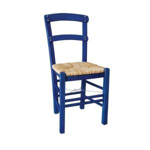 ΚΥΘΝΟΣ Καρέκλα Εμποτισμός Ανιλίνη Μπλε