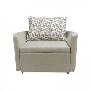ADAMS Πολυθρόνα-Κρεβάτι Ύφασμα Μπεζ