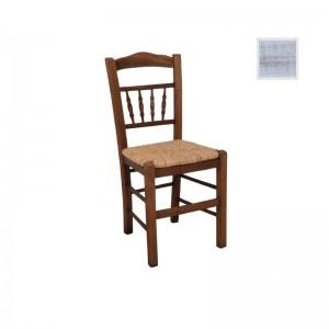 ΑΝΤΙΚΑ Καρέκλα Ψάθα Εμποτ.Decore