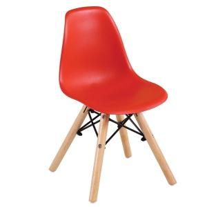 ART Wood Kid Καρέκλα PP Κόκκινο