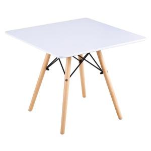 ART Wood Kid Τραπέζι 60x60/H49cm Άσπρο