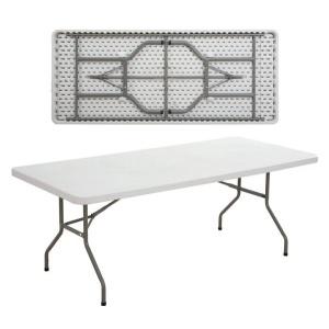 BLOW τραπέζι ΣυνεδρίουCatering Πτυσσόμενο Άσπρο