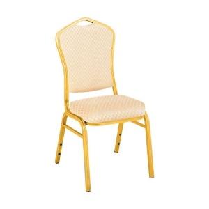 HILTON καρέκλα Αλουμινίου/Ύφασμα Μπεζ